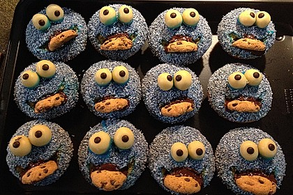 Krümelmonster Muffins 7