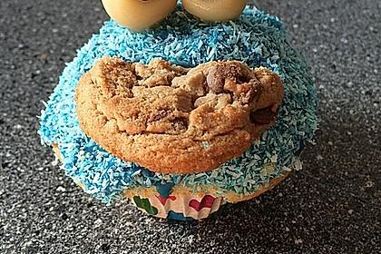 Krümelmonster Muffins 10