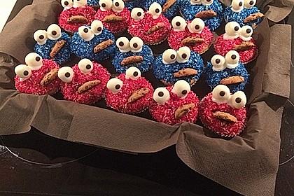 Krümelmonster Muffins 1