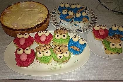 Krümelmonster Muffins 128