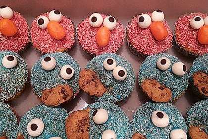Krümelmonster Muffins 118