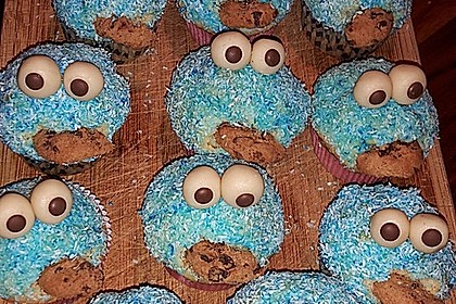Krümelmonster Muffins 54