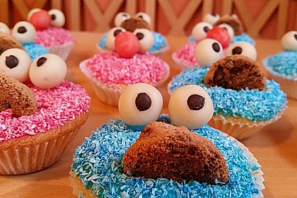 Krümelmonster Muffins 13