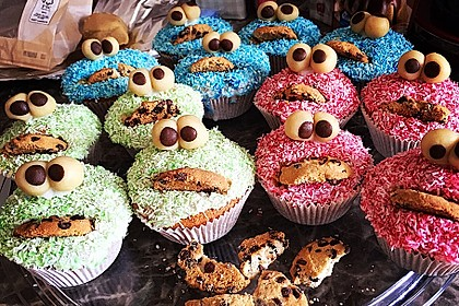 Krümelmonster Muffins 3