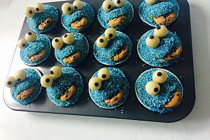 Krümelmonster Muffins 8