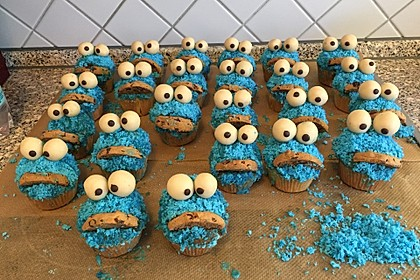 Krümelmonster Muffins 52