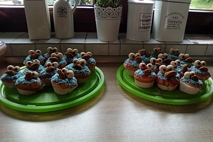 Krümelmonster Muffins 63