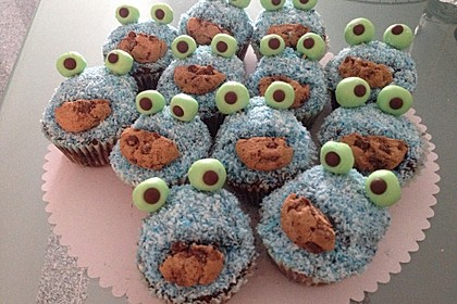 Krümelmonster Muffins 22