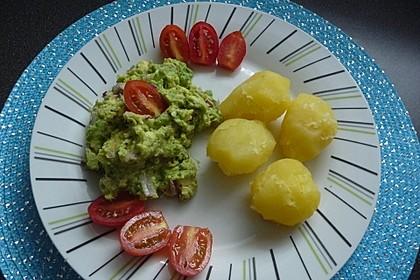 Avocado - Salsa an Pellkartoffeln 6