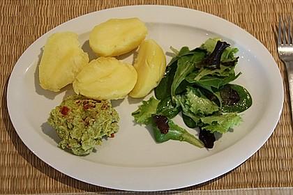 Avocado - Salsa an Pellkartoffeln 3