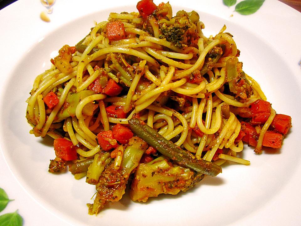 gem se spaghetti pfanne rezept mit bild von schokomaus01. Black Bedroom Furniture Sets. Home Design Ideas