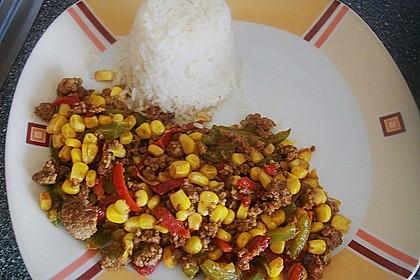 Reispfanne mit Hack 2