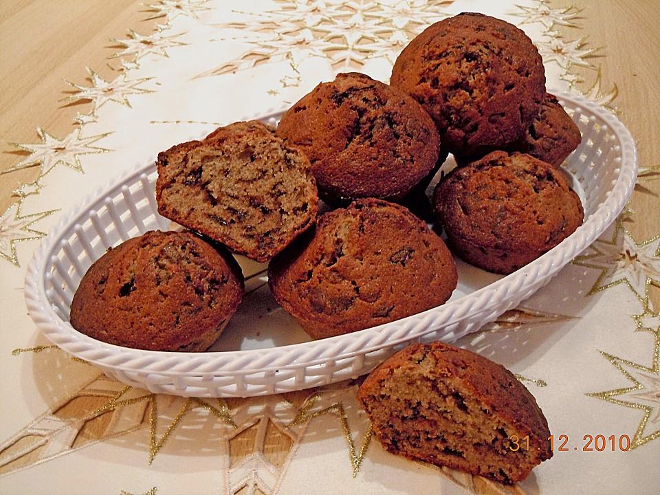 schokoladen gl hwein muffins rezept mit bild. Black Bedroom Furniture Sets. Home Design Ideas