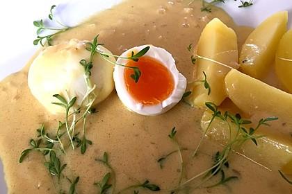 Eier in Senfsauce nach Gundis Art