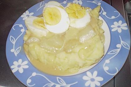 Eier in Senfsauce nach Gundis Art 1