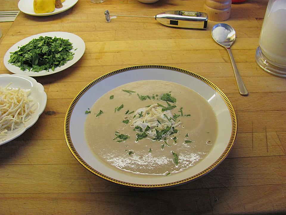 maronen pastinaken suppe rezept mit bild von fiefhusener. Black Bedroom Furniture Sets. Home Design Ideas