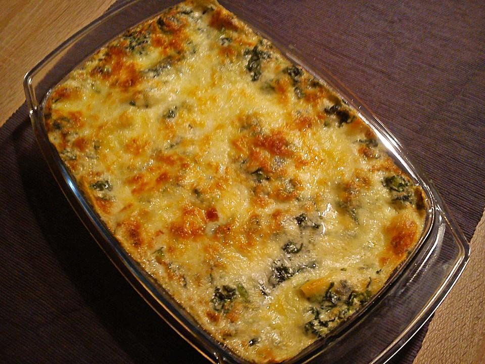 spinat gorgonzola lasagne rezept mit bild von. Black Bedroom Furniture Sets. Home Design Ideas