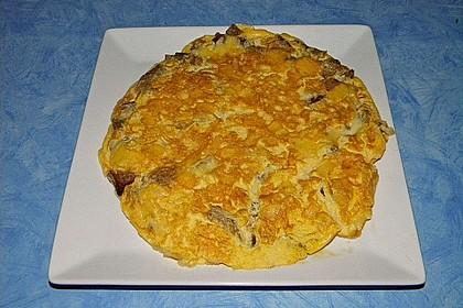 Knoblauch - Brot - Omelette 0
