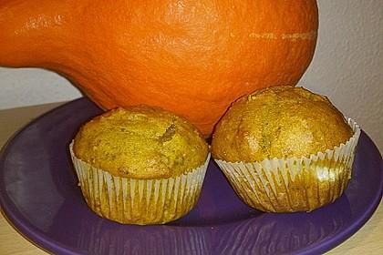 Gefüllte Kürbis - Muffins