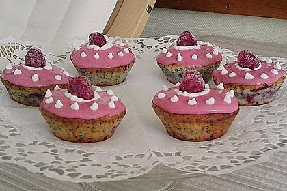 Mohn - Himbeer - Muffins 1