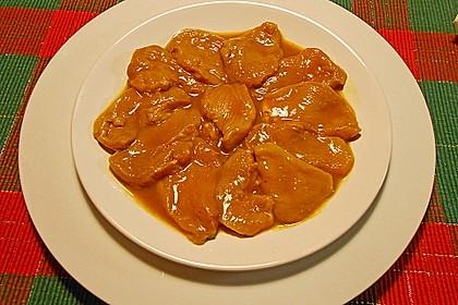Marinade für Hühner- oder Putenfleisch zum Raclette 2