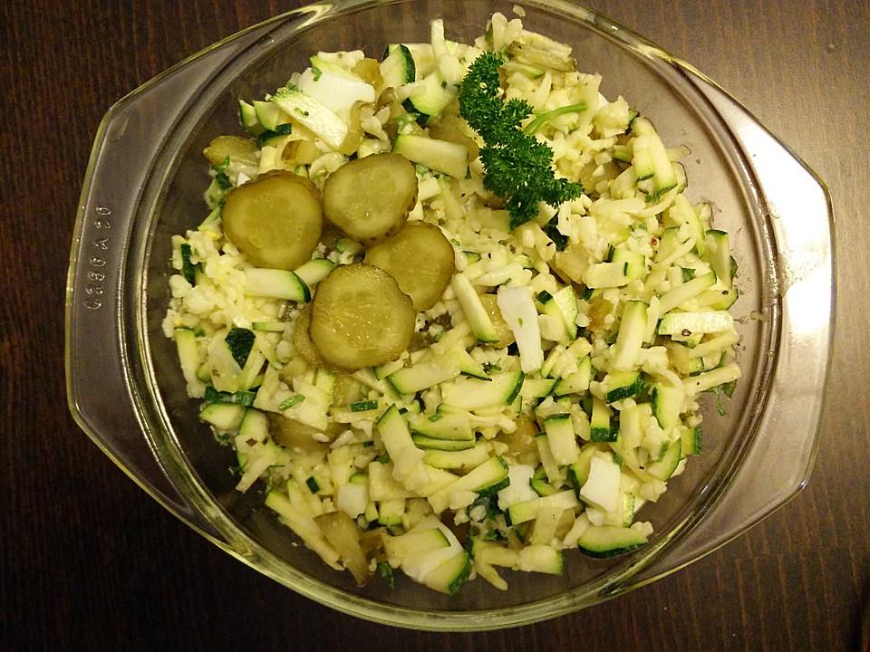 zucchini k se salat rezept mit bild von rothermine1. Black Bedroom Furniture Sets. Home Design Ideas