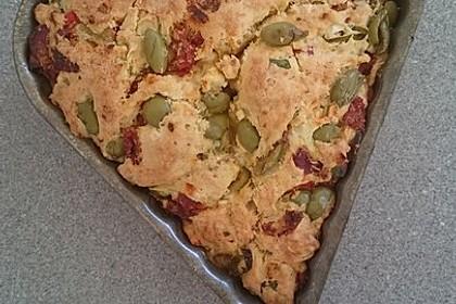 Pikanter Antipasti - Kuchen
