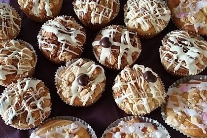 Marzipan - Apfel - Muffins mit Zimtstreuseln 8