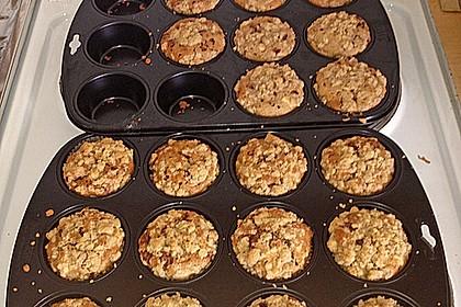 Marzipan - Apfel - Muffins mit Zimtstreuseln 9