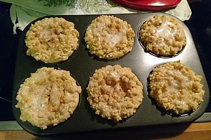 Marzipan - Apfel - Muffins mit Zimtstreuseln 10