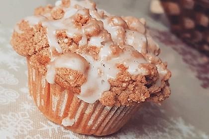 Marzipan - Apfel - Muffins mit Zimtstreuseln 1