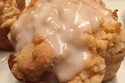 Marzipan - Apfel - Muffins mit Zimtstreuseln 3