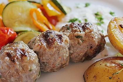 Hackfleisch - Spieße auf türkische Art 8