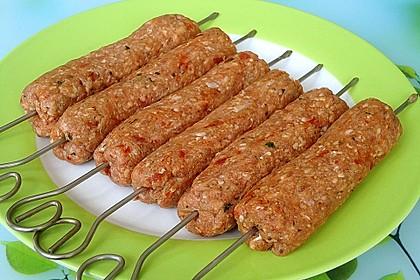 Hackfleisch - Spieße auf türkische Art 16