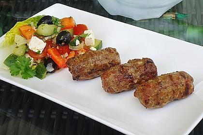 Hackfleisch - Spieße auf türkische Art 1