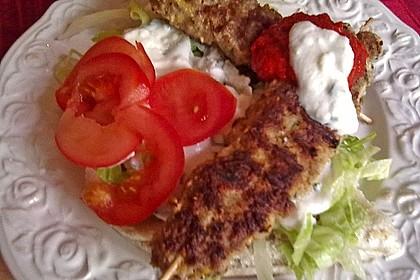 Hackfleisch - Spieße auf türkische Art 25