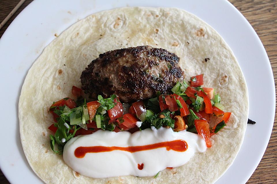 Türkische Sommerküche : Hackfleisch spieße auf türkische art von merceile chefkoch
