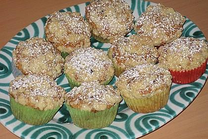 Schoko - Nuss - Muffins mit Streuseln 1