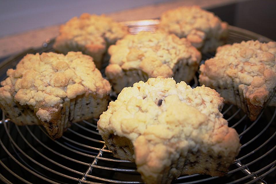 schoko nuss muffins mit streuseln rezept mit bild. Black Bedroom Furniture Sets. Home Design Ideas