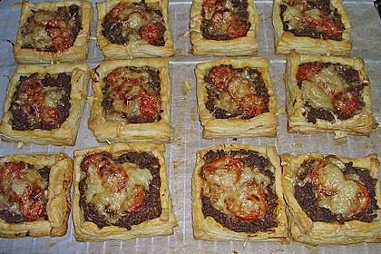 Hack - Pastetchen mit Tomaten