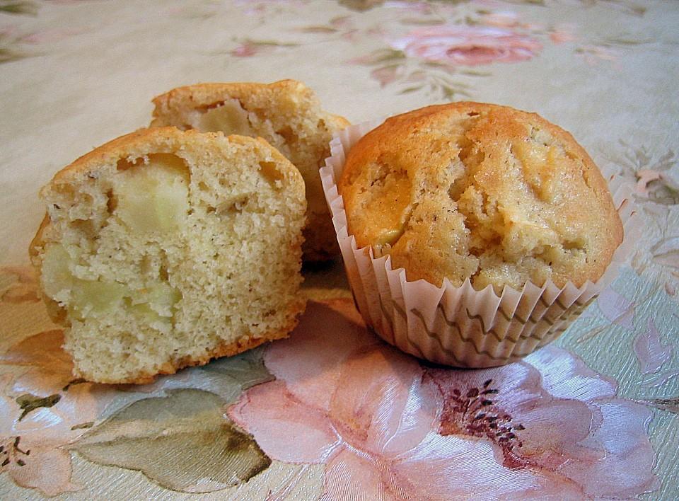 apfel honig muffins rezept mit bild von kleine biene. Black Bedroom Furniture Sets. Home Design Ideas