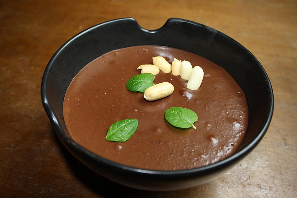 schokoladen erdnussbutter tofu pudding rezept mit bild. Black Bedroom Furniture Sets. Home Design Ideas