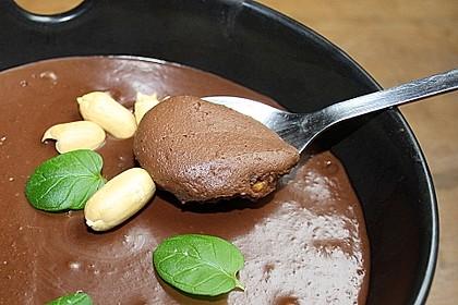 Schokoladen - Erdnussbutter - Tofu - Pudding 3