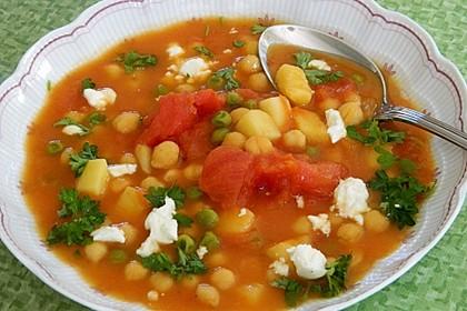 Erbsen - Gemüseeintopf auf türkische Art 4