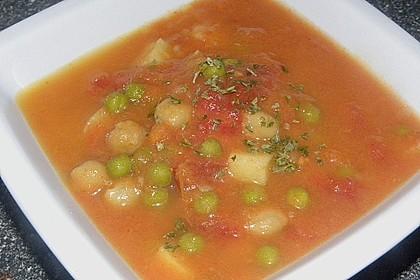 Erbsen - Gemüseeintopf auf türkische Art 6