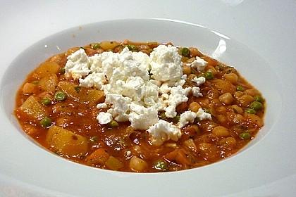 Erbsen - Gemüseeintopf auf türkische Art 2