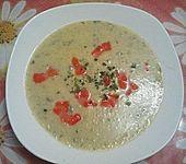 Kartoffel - Gurke - Suppe (Bild)