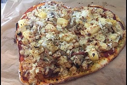 Marinas Pizzateig mit Backpulver 7