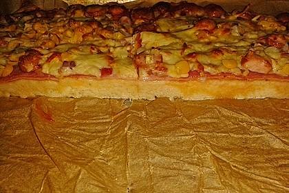 Marinas Pizzateig mit Backpulver 13