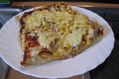 Marinas Pizzateig mit Backpulver 3
